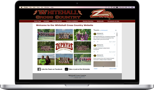The Whitehall XC Website